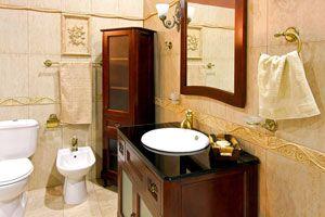 Ilustración de Cómo crear espacios de guarda en el baño