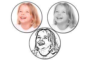 Cómo hacer un sello con tu rostro