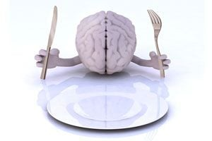 Ilustración de Cómo Alimentarse para Mejorar la Mente