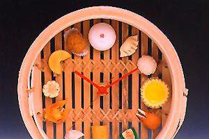 Cómo crear un reloj de pared original que simule un plato. Un reloj de pared en un plato. Idea para hacer un reloj de pared sobre un platillo