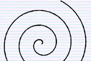 Ilustración de Cómo hacer Espirales Móviles de Papel