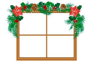Ilustración de C&oacutemo hacer Guirnaldas de Navidad para Decorar las Ventanas
