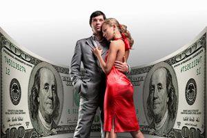 Ilustración de Cómo Saber si mi Pareja está Conmigo por el Dinero