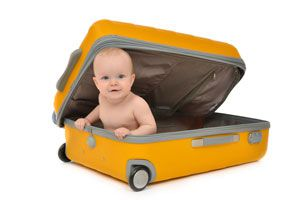 Ilustración de Cómo Organizar un Viaje con un Bebé
