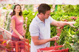Ilustración de Cómo encontrar pareja en el supermercado