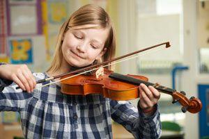 Ilustración de Cómo aprender a tocar un instrumento musical