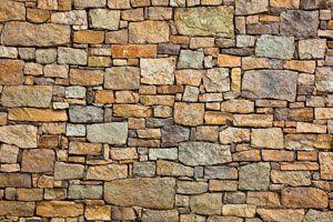 Ilustración de Cómo renovar un muro de piedra