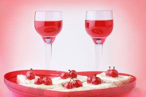 Ilustración de Cómo hacer un cóctel romántico para San Valentín