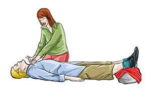 Ilustración de Qué hacer ante un desmayo