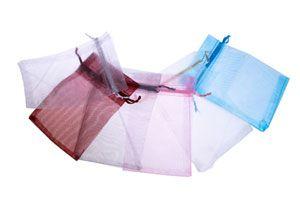 Cómo hacer bolsitas de tela para el baño.