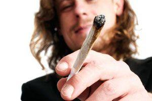 Ilustración de Efectos de la Marihuana
