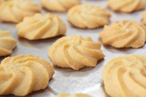 Ilustración de Cómo hacer galletas de mantequilla