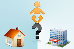 Ilustración de ¿Dar a luz en casa o en un hospital?