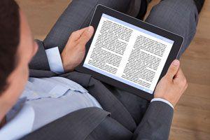 Ilustración de Cómo realizar un test de lectura online