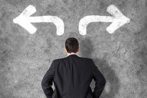 Ilustración de Cómo tomar una decisión profesional adecuada para ti