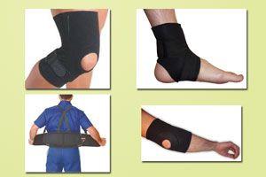 Ilustración de Accesorios para evitar lesiones al hacer ejercicios