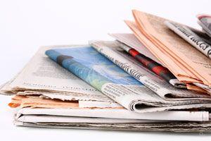 Ilustración de Cómo Reciclar el Papel Periódico