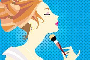 Ilustración de Juegos para maquillar online