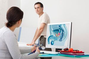 Ilustración de Detección temprana de cáncer en hombres