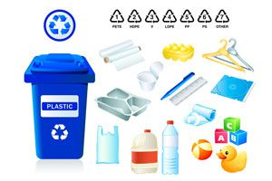 Ilustración de Los peligros de los residuos plásticos