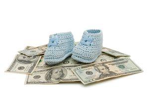 Ilustración de Cómo ahorrar en los gastos del bebé
