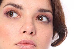Ilustración de Maquillaje para ojos marrones