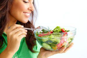 Ilustración de Alimentación para evitar la celulitis