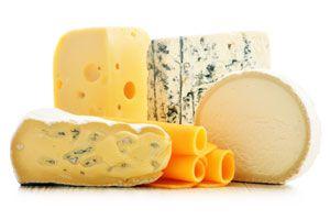 Ilustración de Tipos y propiedades del queso