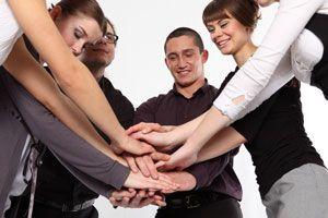 Ilustración de El apoyo de los demás contra el estrés