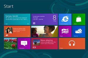 Ilustración de Cómo configurar e iniciar sesión en Windows 8