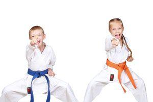 Ilustración de Deportes de lucha para niños