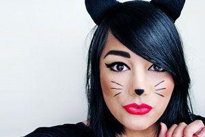 Ilustración de Cómo hacer un maquillaje de gato