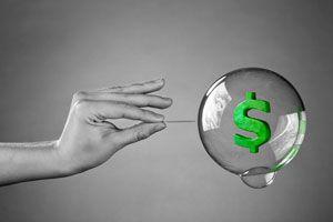 Ilustración de ¿Qué es una burbuja económica?