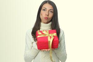 Ilustración de Lo que no debes regalar a una mujer