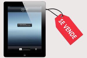 Ilustración de Cómo vender un iPad por Internet
