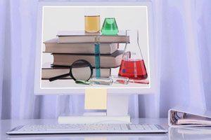 Ilustración de Webs y juegos para aprender sobre ciencias