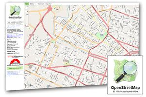 Ilustración de Mapas gratuitos con Open Street Map