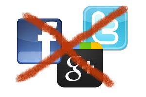 Ilustración de Cómo vivir sin usar redes sociales