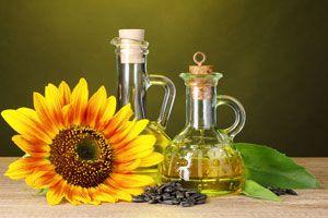 Ilustración de Propiedades del aceite de girasol