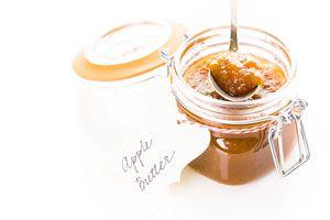 Ilustración de Cómo hacer mantequilla de manzanas