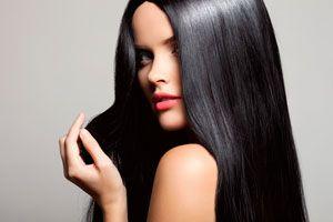 Ilustración de Tipos de keratina y alisados del cabello