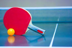 Ilustración de Cómo jugar al ping pong