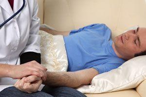 Ilustración de Cómo ayudar a un enfermo
