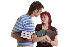 Ilustración de Cómo encontrar pareja en la universidad