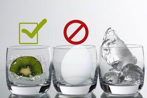Ilustración de Alimentos que No se pueden Congelar