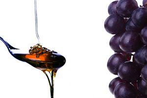 Ilustración de C&oacutemo hacer miel de uvas