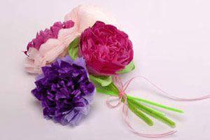 Ilustración de Cómo hacer Flores de Papel