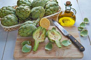 Ilustración de Cómo cocinar alcachofas