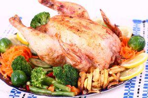 Ilustración de Cómo Cocinar Pollo al Horno