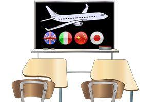 Ilustración de Cómo aprender idiomas en el extranjero
